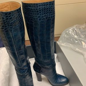 Lucchese Shoes - Authentic Lucchese blue alligator boots!